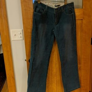 Prana blue boot cut chords